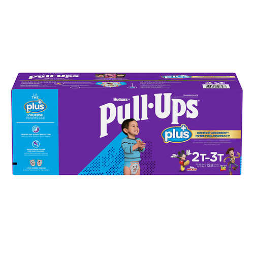 Huggies Pull-Ups Plus Training Pants For Boys