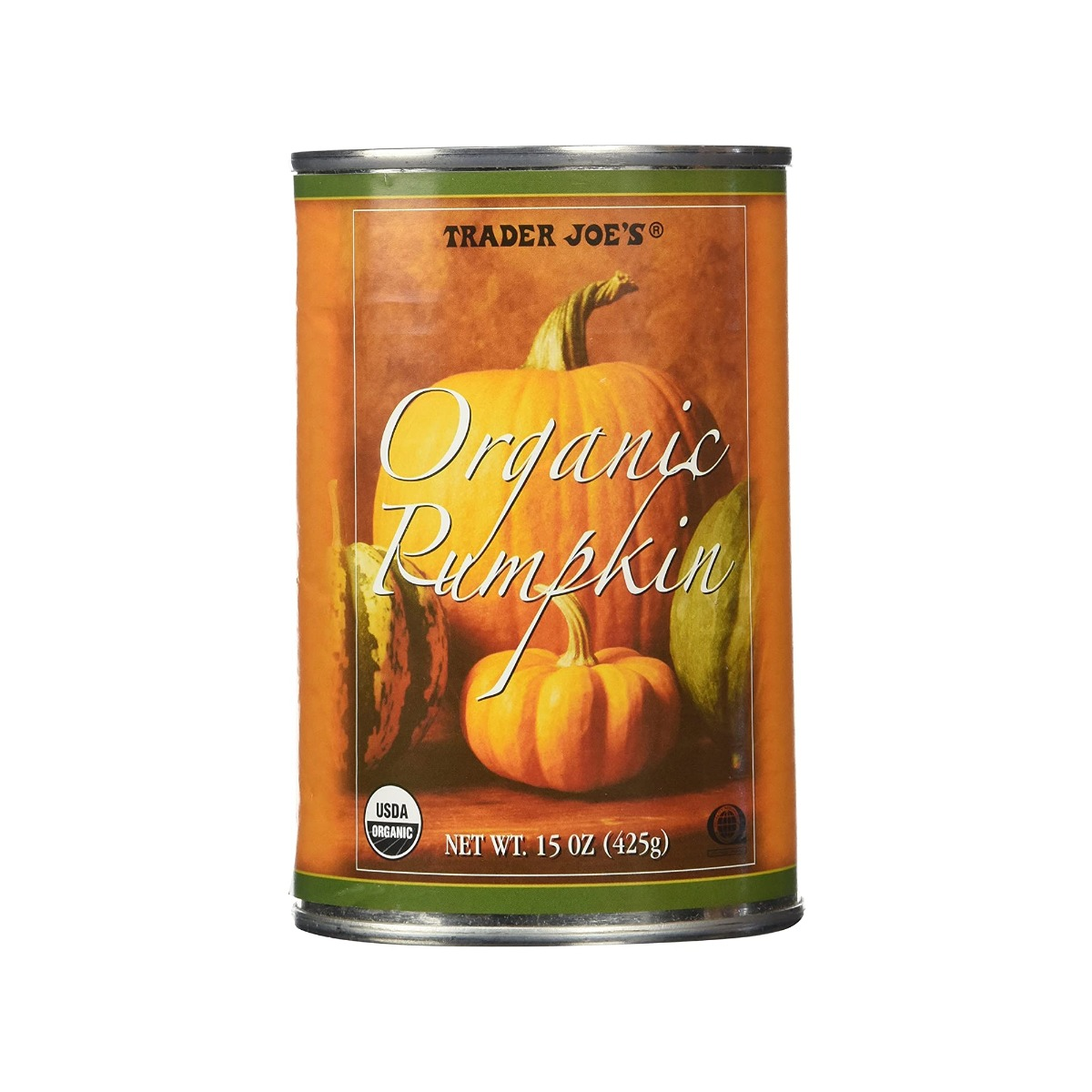 Trader Joe's Organic Pumpkin(1 Can) 15oz