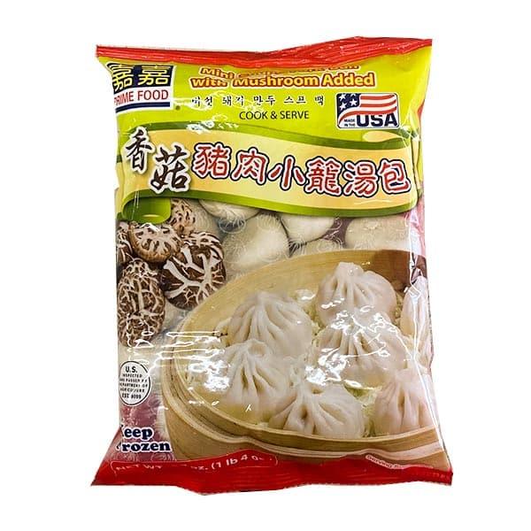 Mini Soupy Pork Bun W/ Mushroom..