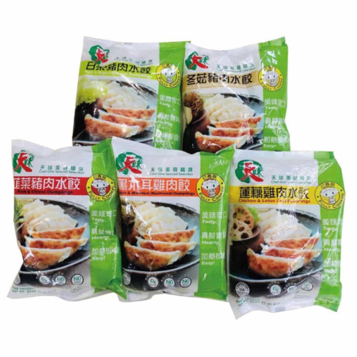 TianWei Dumplings 天味水饺系列 21oz