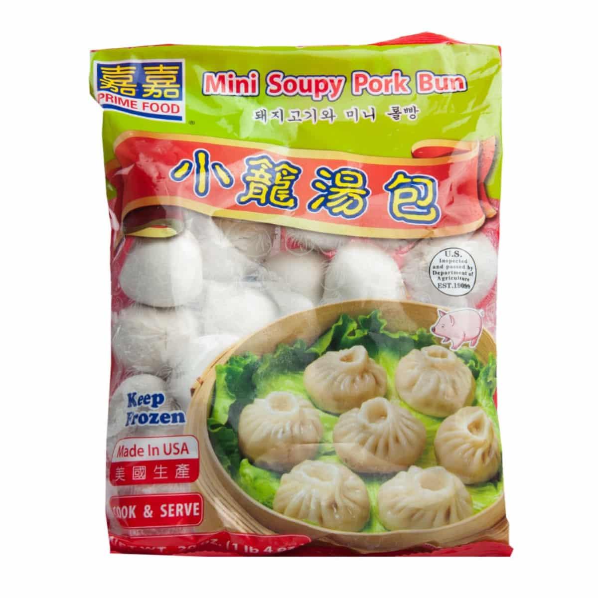 PrimeFood Mini Soupy Pork Bun 嘉嘉小笼汤包..