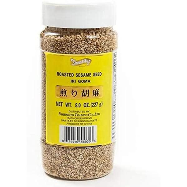 Shirakiku Roasted Sesame Seed 煎胡麻 8oz