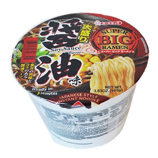 Acecook Super Big Ramen Soysauce 日式酱油碗面..
