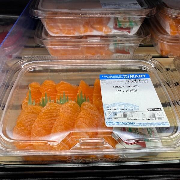Salmon Sahimi 0.35-0.45lb/pk
