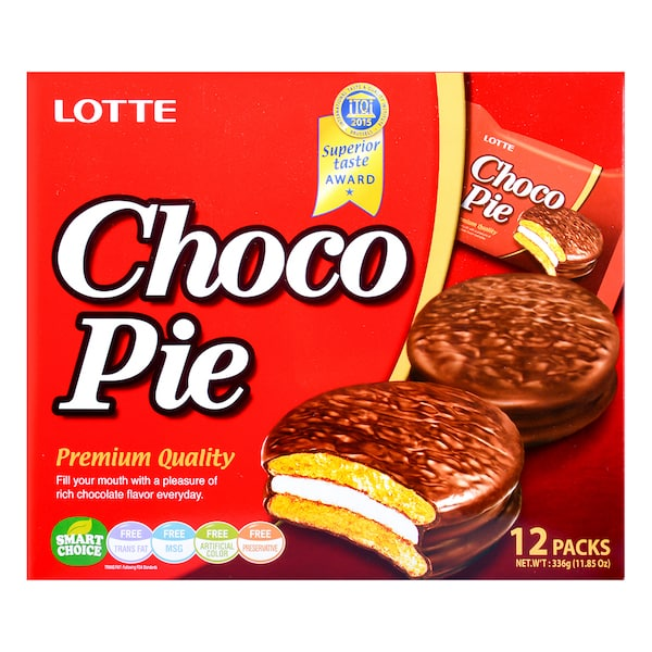 Lotte Choco Pie 乐天巧克力派 12pack/盒 *..