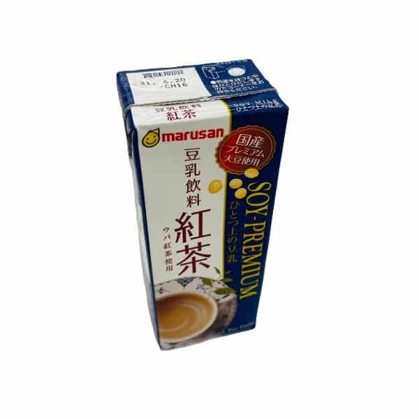 Marusan Red Tea Premium Soy Milk..