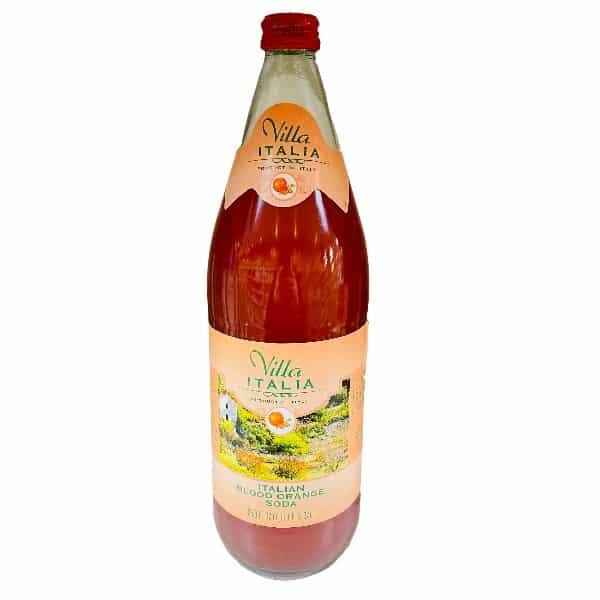 Villa Italia Blood Orange Soda 33.8..
