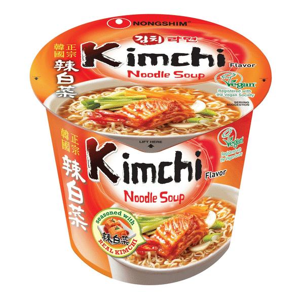 Nongshim Kimchi Noodle Soup 辣白菜汤面 2.6..
