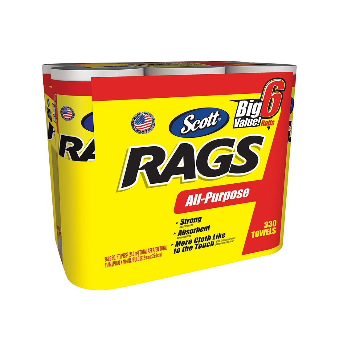 Scott All Purpose Rags On A..