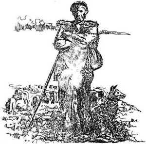 Un pastor del Pirineo (Imagen: Enrique Satué)