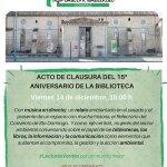 15 aniversario del Centro de Documentación del Agua y el Medio Ambiente de Zaragoza (CDAMAZ)