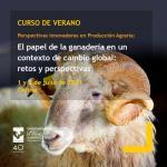 El papel de la ganadería en un contexto de cambio global: retos y perspectivas