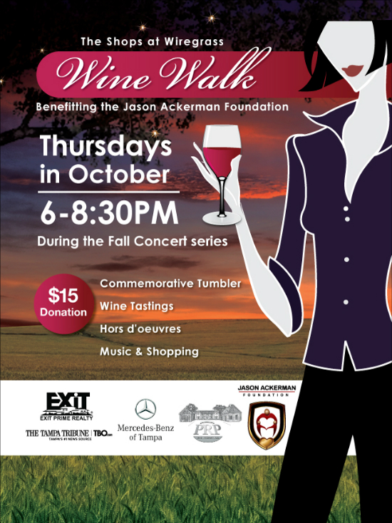 Wine Walk at Wiregrass in Wesley Chapel