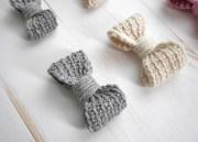 perfect crochet bow - easy
