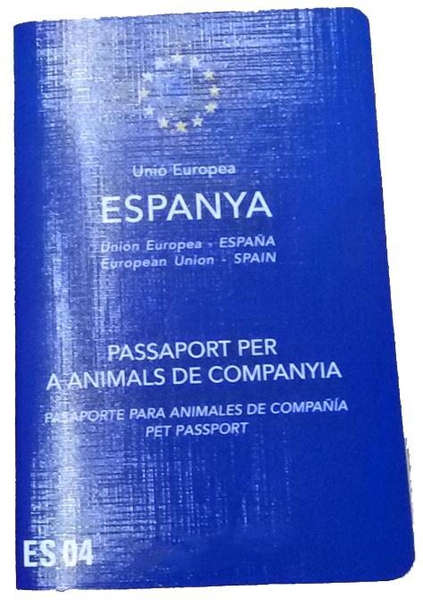 EU Reisepass für Tiere