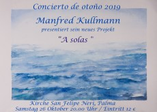 Iglesia San Felipe Neri - Manfred Kullmann 2019 @ Iglesia San Felipe Neri | Palma | Illes Balears | Spanien