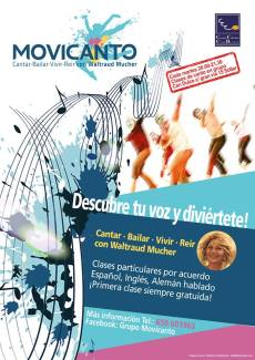 Movicanto-Workshop 02/19 - Zweites Halbjahr @ Centre Cultural Can Dulce | Sóller | Illes Balears | Spanien