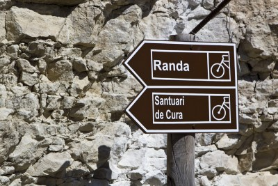 Randa,  Santuari de Cura