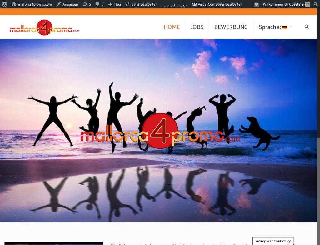 NIGHT LIFE OCIO S.LProgrammierung, Grafik, Layout: Websitewww.mallorca4promo.com