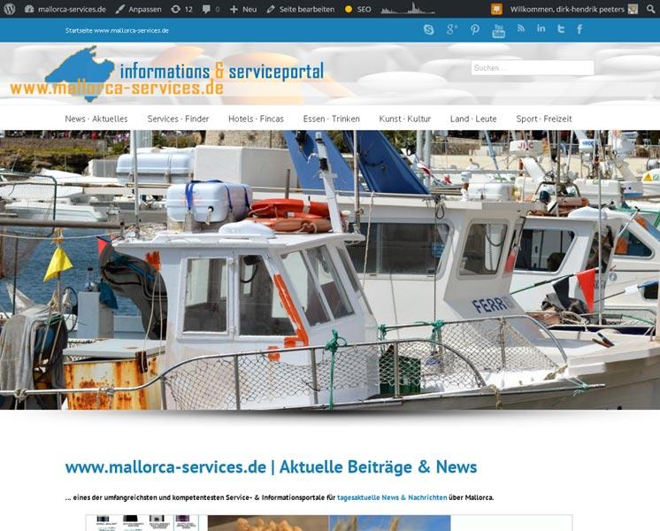 mallorca-services.esGrafik, Layout: Online-Portalwww.mallorca-services.es