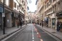 La calle Velázquez, peatonal