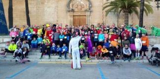 Un centenar de participantes se apuntaron a la Sant Silvestre de Muro 2016