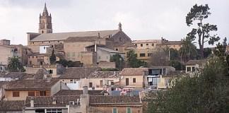 Imagen del pueblo de Llubí