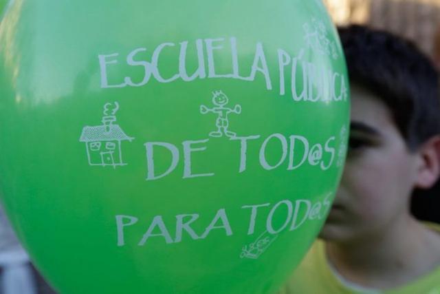 090317 huelga docentes globo