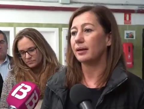 Armengol asegura que se invertirán 40 millones de € en puertos en la legislatura