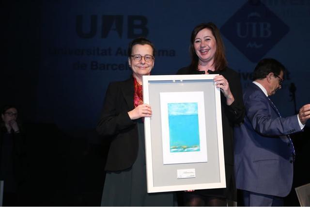Francina Armengol Teatre Principal 40 aniversario Universidad UIB 2