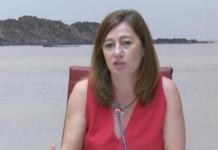 Armengol cobra al año un sueldo de 66.240,44 euros, un 1 % superior al de 2017