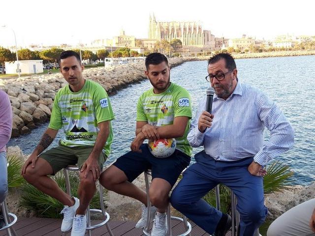 El presidente del club, Miquel Jaume (Foto: Palma Futsal)