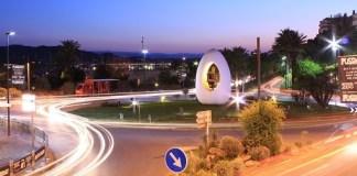 Rotonda de entrada a Sant Antoni de Portmany (Foto: Ibiza Travel)