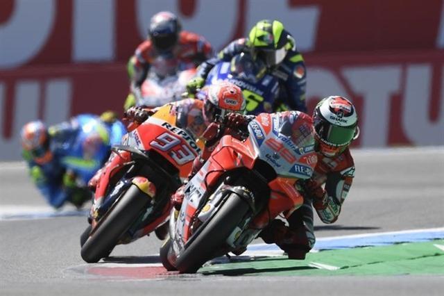 La de hoy ha sido la victoria 150 del motociclismo español en Moto GP (Foto: Europa Press)