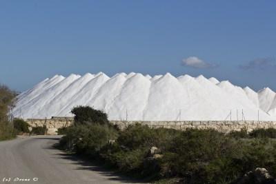 Salzhalden der Salinas de Llevant