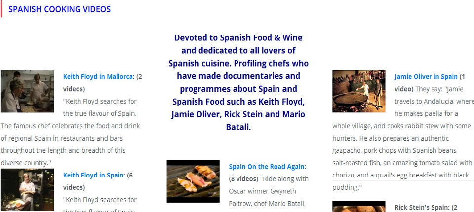 Spanish-Cooking-Videos