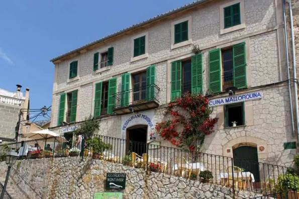 Restaurant Montimar, Estellencs, Mallorca