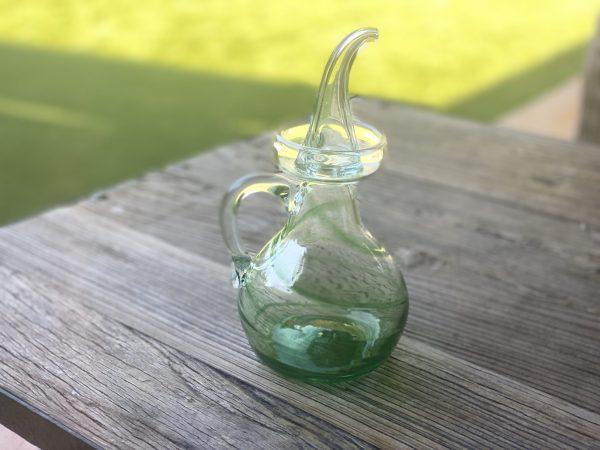 aceitera-vidrio-verde