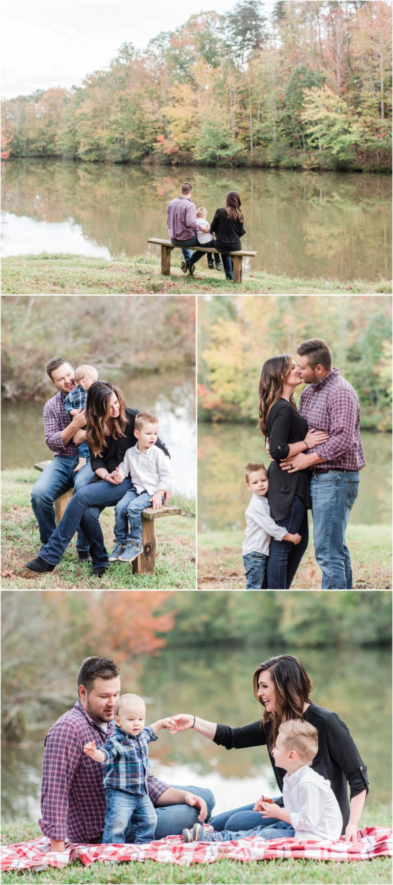 Fall Family Session in Travelers Rest South Carolina