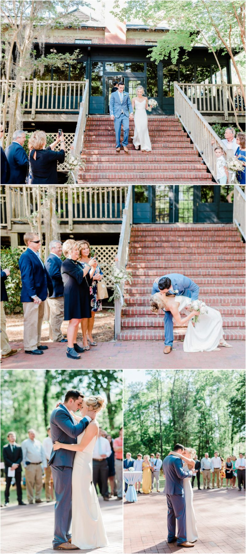 Millstone at Adams Pond Wedding in Columbia, SC reception photos