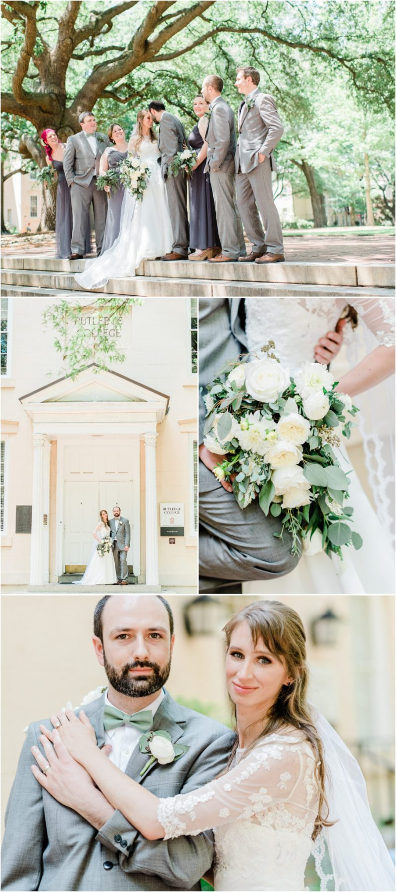 Greenery Inspired Riverbanks Zoo Wedding Columbia SC Bride and Groom Photos