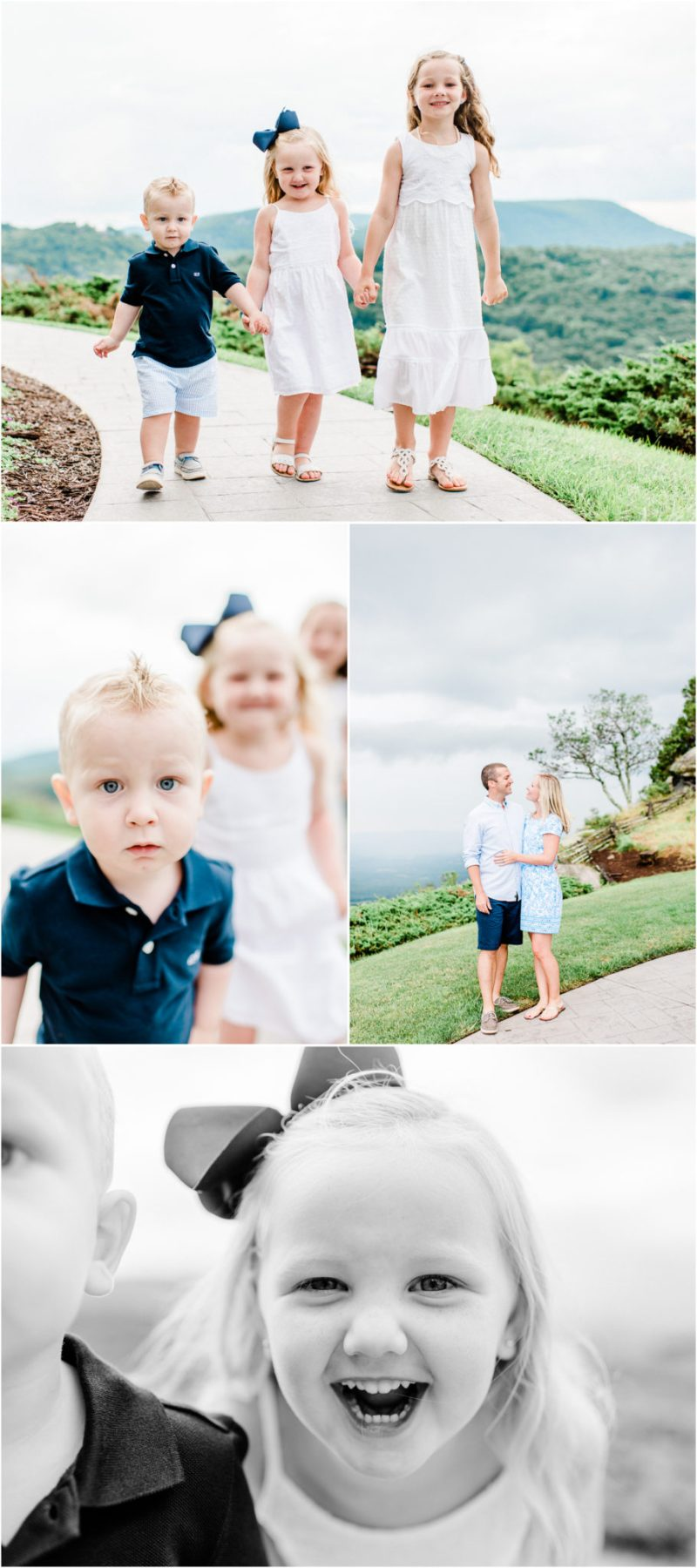 Glassy Chapel Family Session at the Cliffs in Landrum, SC