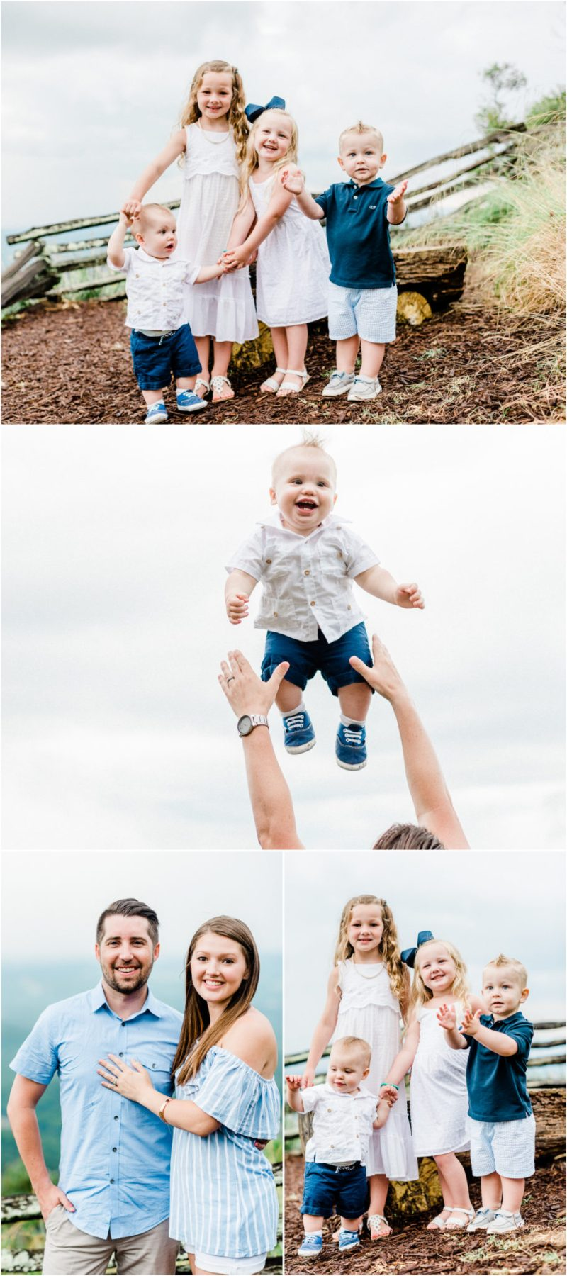 Glassy Chapel Family Session at the Cliffs in Landrum