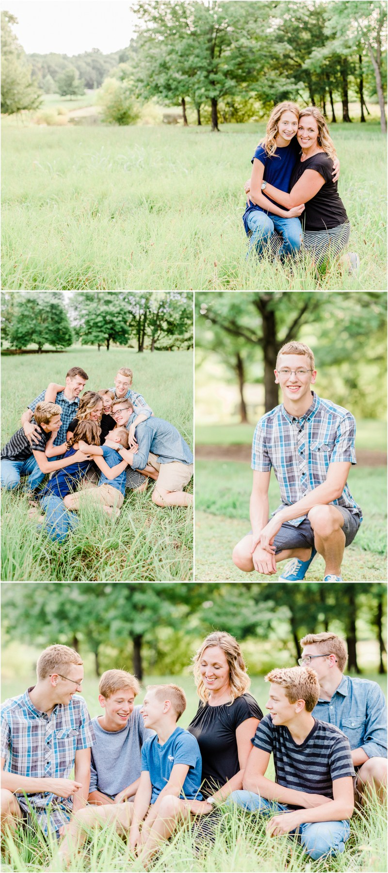 Milliken Arboretum Family Session in Spartanburg, SC