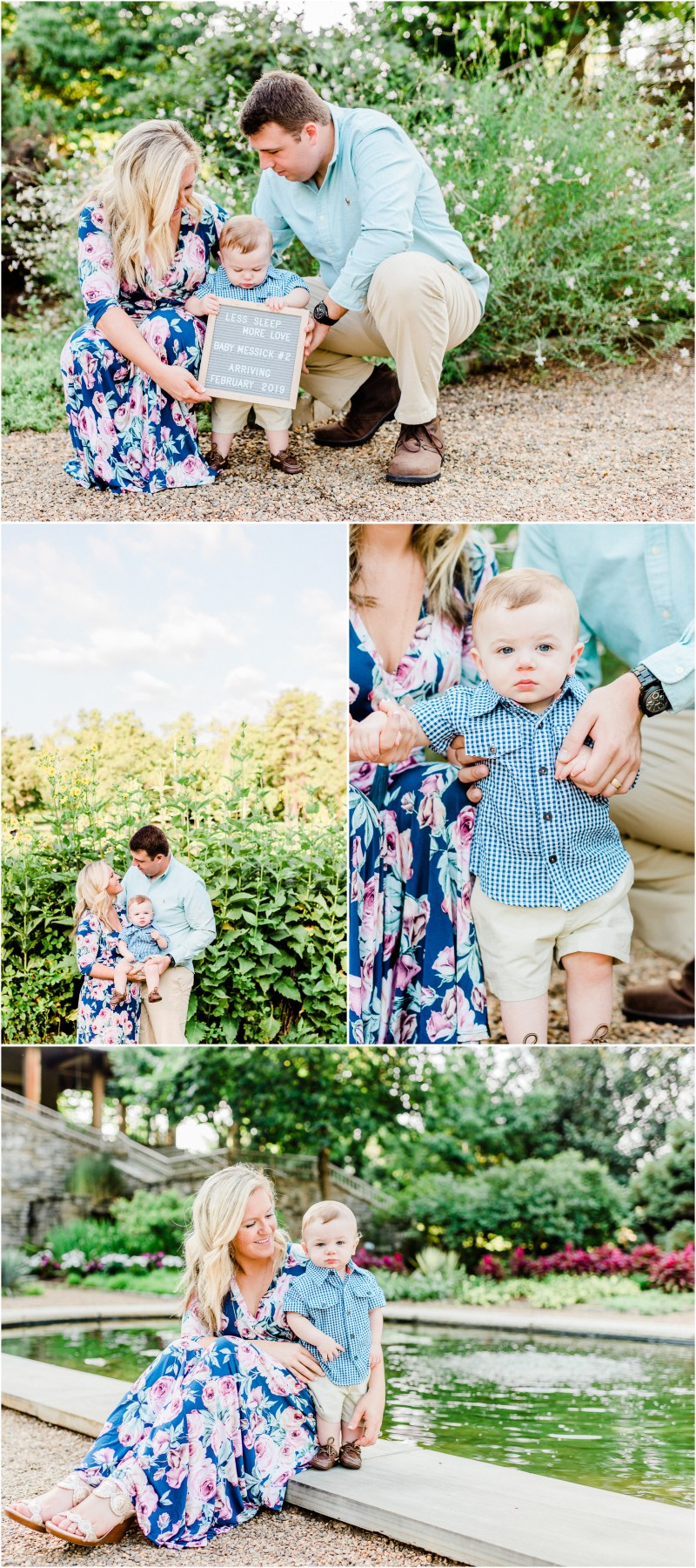 Summer Furman Family Session in Greenville, SC