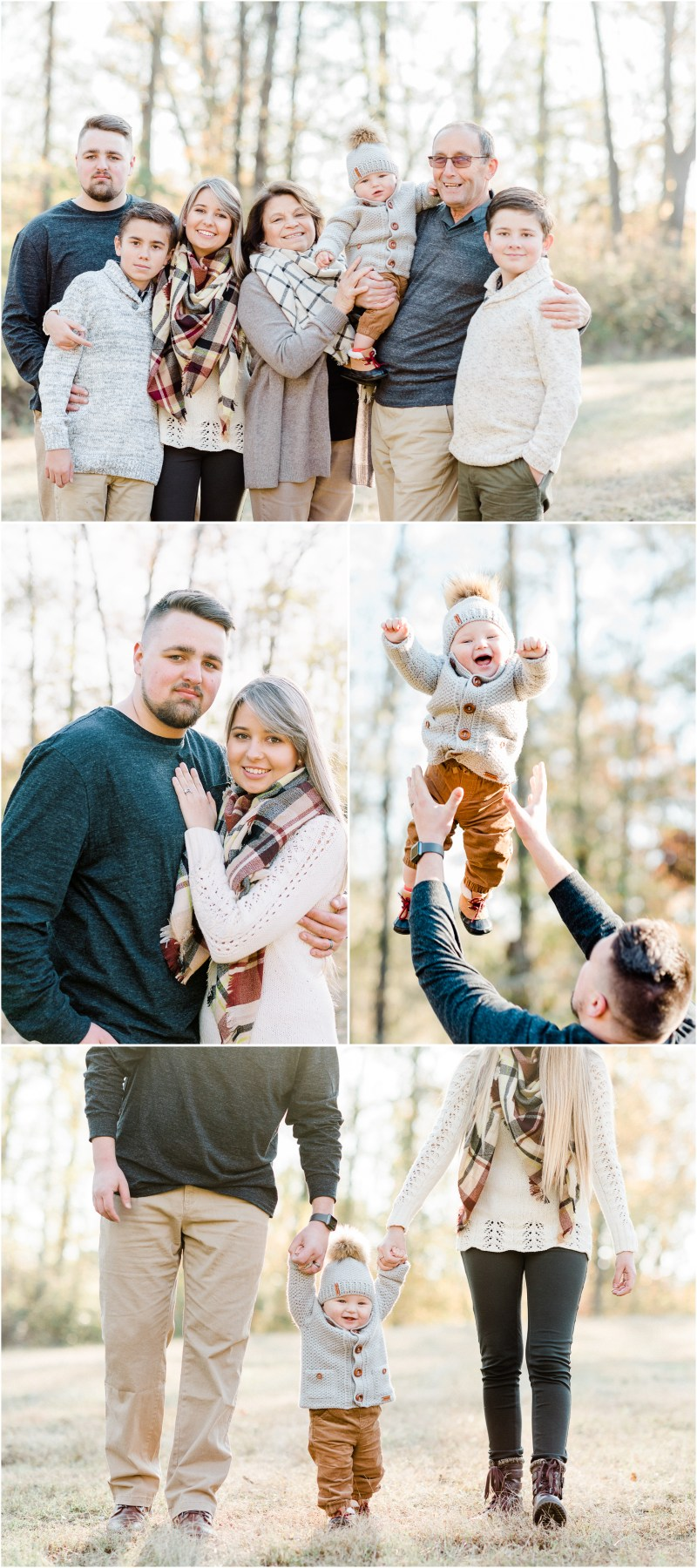 Cedar Falls Family Session in Simpsonville, SC