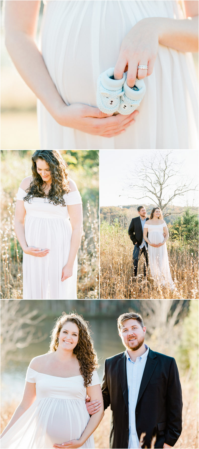 Film + digital mountain Table Rock Maternity Session