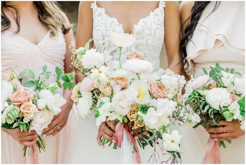 Romantic Blush L Wedding Greenville SC Wedding Bouquets