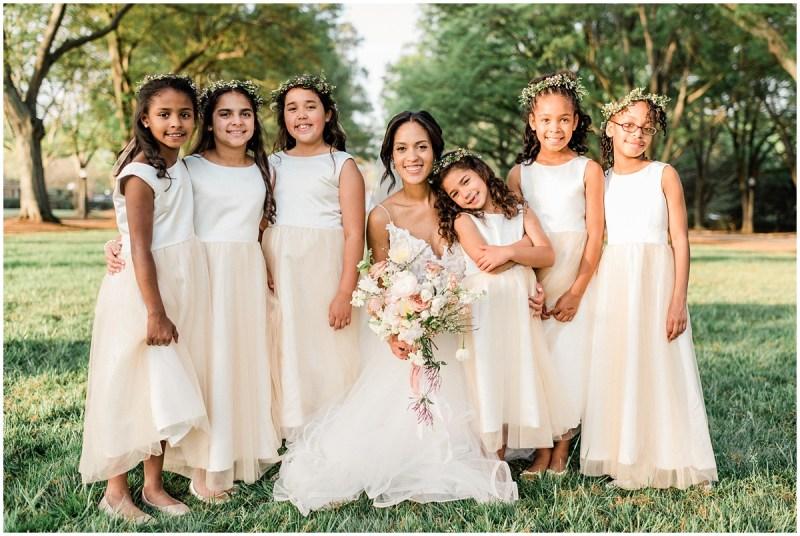 Romantic Blush L Wedding Bridal Party