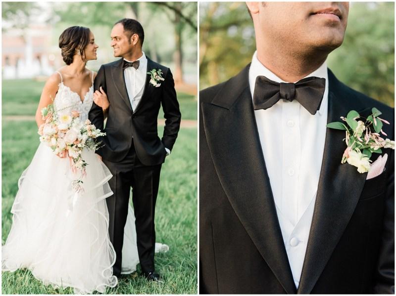 Romantic Blush L Wedding Bride and Groom Photos